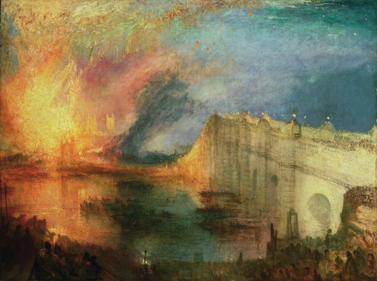 Brand des Parlaments 1835-2