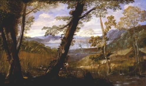 Annibale Carracci, Landschaft