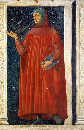 Andrea del Castagno: Petrarca